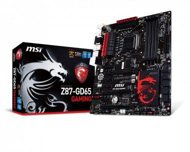 PLACA MAE 1150 Z87-GD65 DDR3 MSI BOX