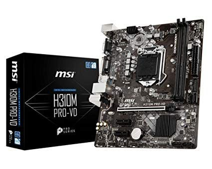 PLACA MAE 1151 ATX H310M PRO-VD DDR4 MSI BOX