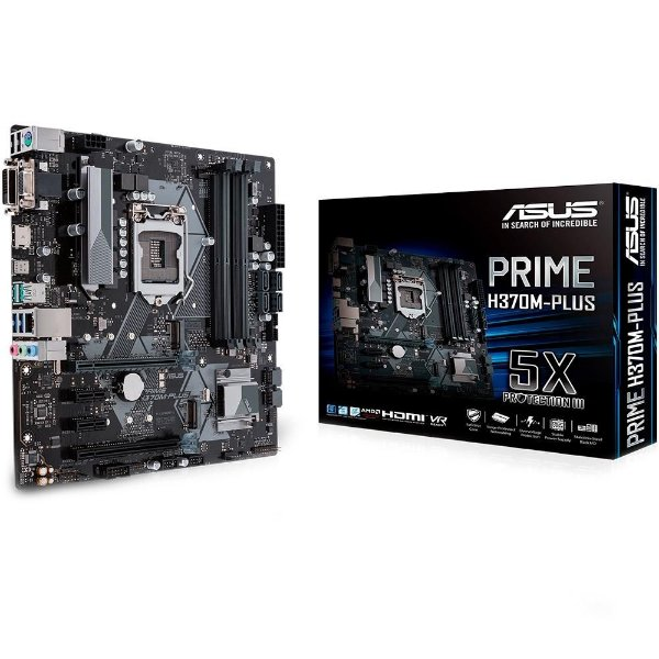 PLACA MAE 1151 ATX H370M-PLUS DDR4 PRIME ASUS BOX