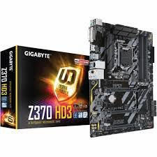 PLACA MAE 1151 ATX Z370 HD3 RGB DDR4 GIGABYTE BOX