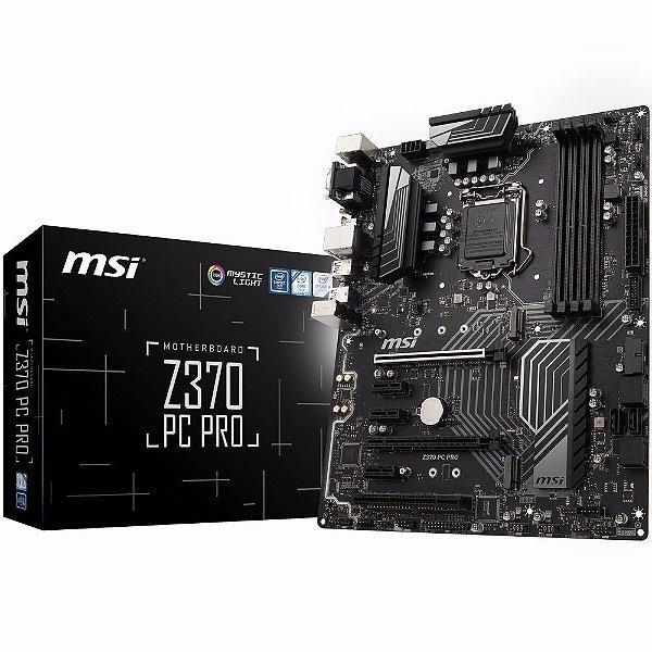 PLACA MAE 1151 ATX Z370 PC PRO DDR4 MSI BOX