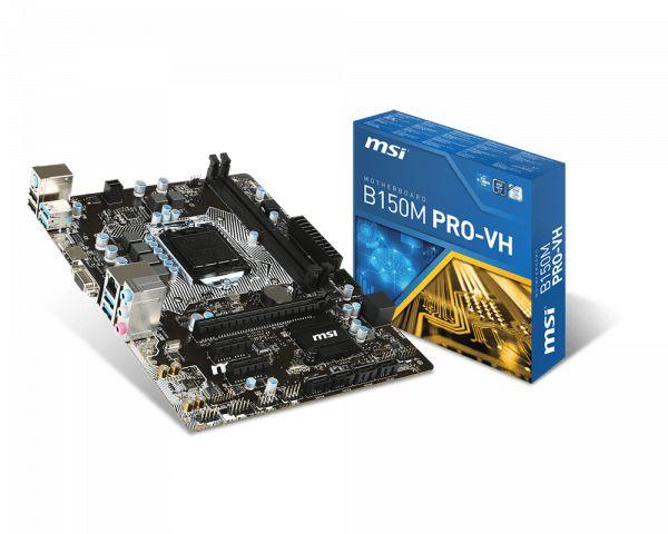 PLACA MAE 1151 MICRO ATX B150M PRO-VH DDR4 MSI BOX IMPORTADO