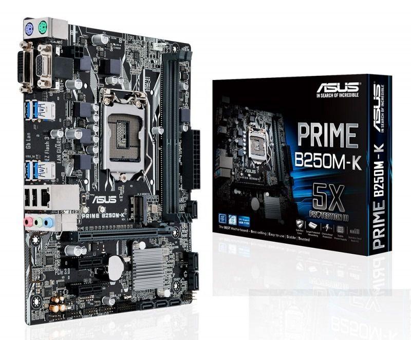 PLACA MAE 1151 MICRO ATX B250M-K DDR4 PRIME CX PARDA ASUS OEM