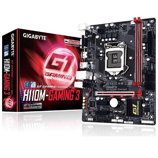 PLACA MAE 1151 MICRO ATX GA-H110M-GAMING 3 DDR4 GIGABYTE BOX