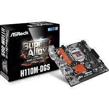 PLACA MAE 1151 MICRO ATX H110M-DGS DDR4 S/CHAPINHA ASROCK BOX IMPORTADO