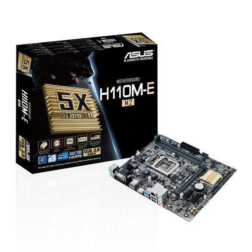 PLACA MAE 1151 MICRO ATX H110M-E DDR4 ASUS BOX