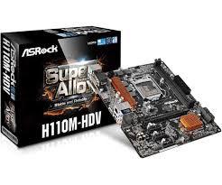 PLACA MAE 1151 MICRO ATX H110M-HDV DDR4 ASROCK BOX IMPORTADO