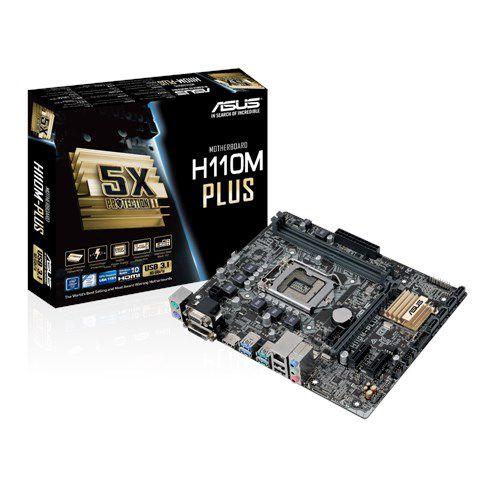 PLACA MAE 1151 MICRO ATX H110M-PLUS DDR3 ASUS BOX IMPORTADO