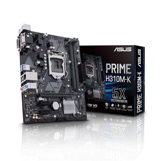 PLACA MAE 1151 MICRO ATX H310M-K DDR4 PRIME ASUS BOX