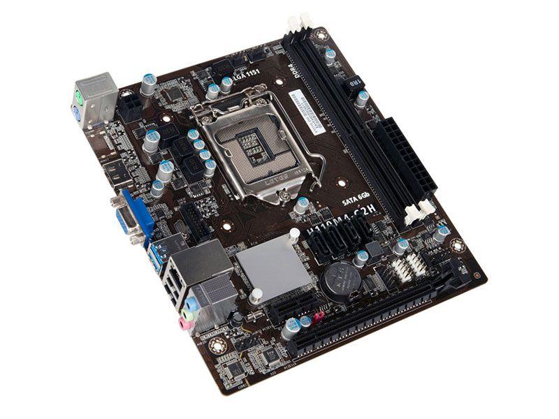 PLACA MAE 1151 MICRO ATX IPMH110P DDR4 PCWARE BOX