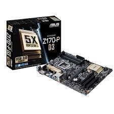 PLACA MAE 1151 Z170-P D3 DDR3 USB 3.0 ASUS BOX