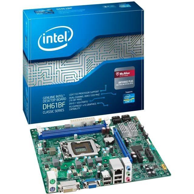 PLACA MAE 1155 MICRO ATX DH61BF DDR3 INTEL OEM