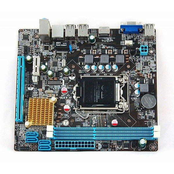 PLACA MAE 1155 MICRO ATX H61 DDR3 VGA/HDMI ISYNC BOX