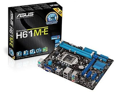 PLACA MAE 1155 MICRO ATX H61M-E DDR3 ASUS BOX IMPORTADO