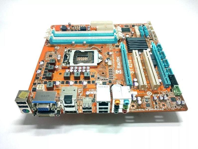 PLACA MAE 1155 MICRO ATX ST 4272 DDR3 VGA/DVI/HDMI/DP ITAUTEC BOX