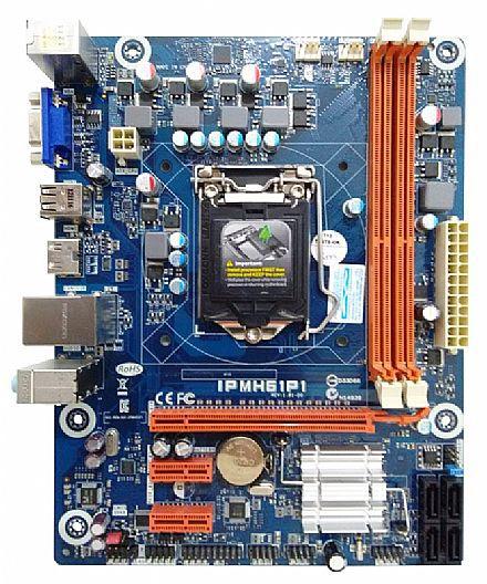 PLACA MAE 1155 S/V/R IPMH61P1 DDR3 PCWARE BOX