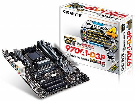 PLACA MAE AM3 GA-970A-D3P DDR3 GIGABYTE BOX
