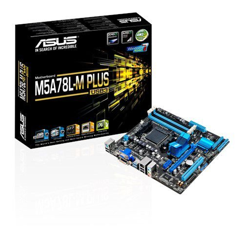 PLACA MAE AM3 MICRO ATX M5A78L-M PLUS USB3 DDR3 ASUS BOX