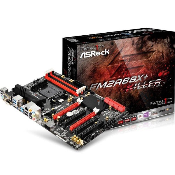 PLACA MAE FM2 ITX FM2A88X DDR3 FATAL1TY KILLER ASROCK BOX