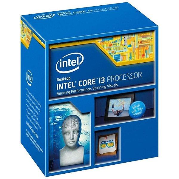 PROC 1150 CORE I3 4160 3.6 GHZ 3 MB CACHE INTEL BOX