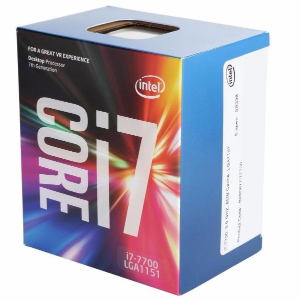 PROC 1151 CORE I7 7700 3.6 GHZ KABY LAKE 8 MB CACHE QUAD CORE INTEL BOX