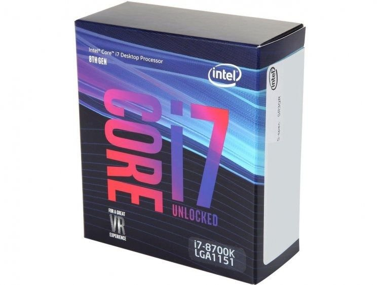 PROC 1151 CORE I7 8700K 3.70GHZ COFFEE LAKE 12 MB CACHE INTEL BOX