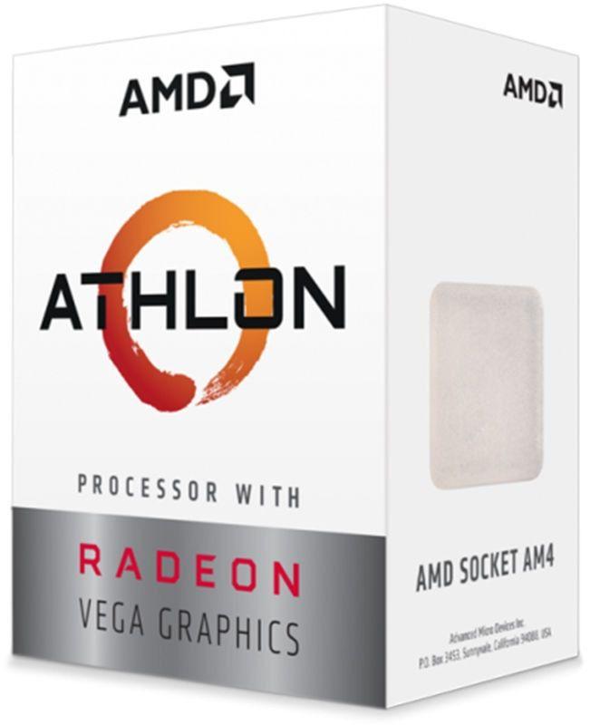 PROC AM4 ATHLON 200GE 3.2 GHZ 5 MB CACHE YD200GC6FBBOX DUAL CORE AMD BOX