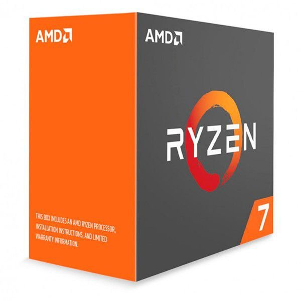 PROC AM4 RYZEN 7 1700 3,0 GHZ SUMMIT RIDGE 20 MB CACHE OCTA CORE AMD BOX