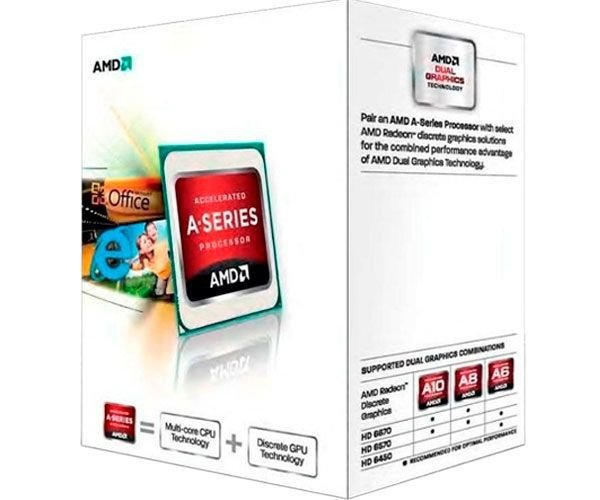 PROC FM2 DUAL CORE A4 4000 3,0 GHZ RICHLAND 1 MB CACHE AMD BOX