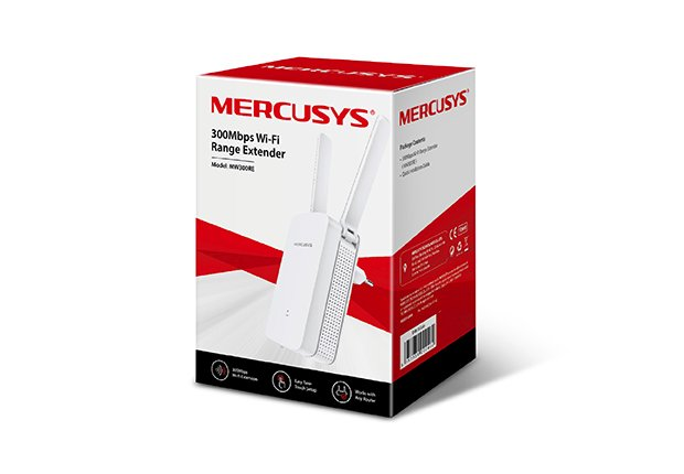 REPETIDOR 300MPBS MW300RE 2,4GHZ ACCESS POINT MERCUSYS BOX