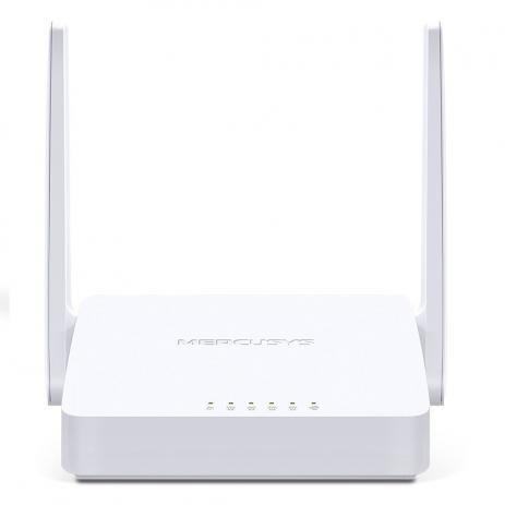ROTEADOR 300 MBPS WIRELESS MW301R 1 PORTA WAN 2 LAN 2 ANTENAS MERCUSYS BOX