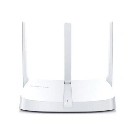 ROTEADOR 300 MBPS WIRELESS MW305R 2.0 1 PORTA WAN 3 LAN 3 ANTENAS MERCUSYS BOX