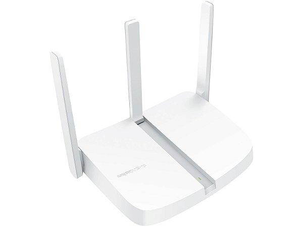 ROTEADOR 300 MBPS WIRELESS MW305R-2 1 PORTA WAN 3 LAN 3 ANTENAS MERCUSYS BOX