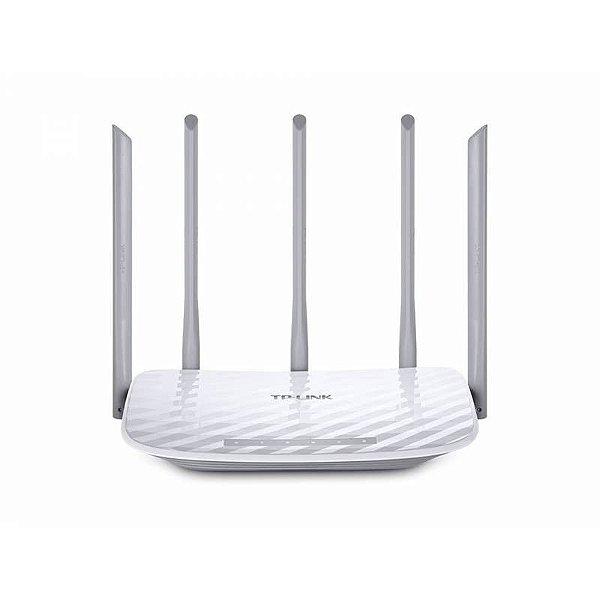 ROTEADOR 450 MBPS WIRELESS AC1350 ARCHER C60 1 PORT WAN 4 PORT LAN TP LINK BOX