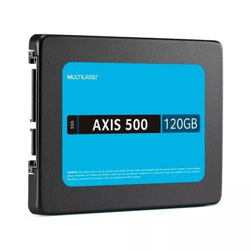 SSD 120GB SATA III AXIS 500 MULTILASER OEM