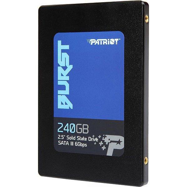 SSD 240GB SATA III PBU240GS25SSDR BURST PATRIOT BOX