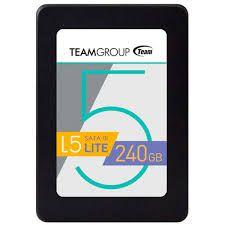 SSD 240GB SATA III T2535T240G0C101 L5 LITE TEAM GROUP BOX