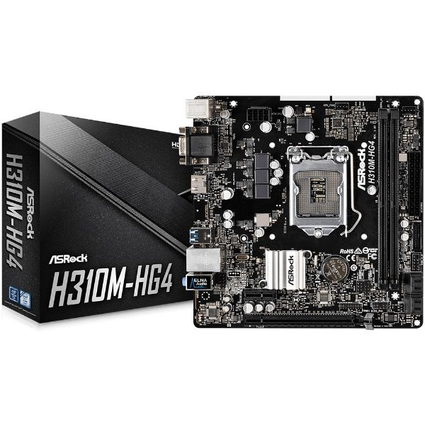 PLACA MAE 1151 MICRO ATX H310M-HG4 DDR4 ASROCK BOX