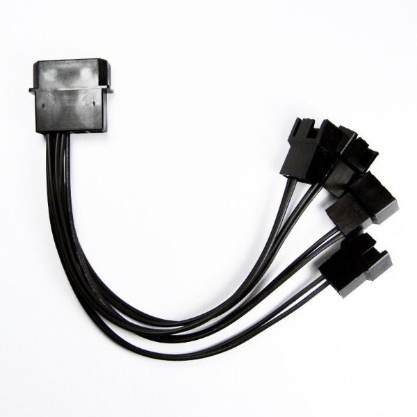 CABO ADAPTADOR MULTI FAN MOLEX P/4 COOLERS 3 E 4 PINOS DEX OEM