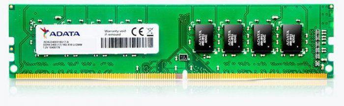 MEMORIA 4GB DDR4 2666MHZ AD4U2666J4G19-S UDIMM ADATA BOX
