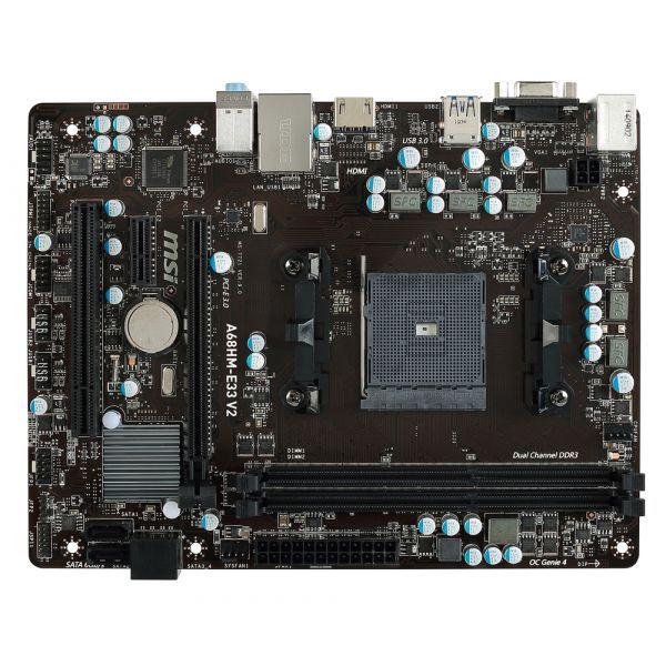 PLACA MAE FM2 ATX A68HM-E33 V2 DDR3 MSI OEM