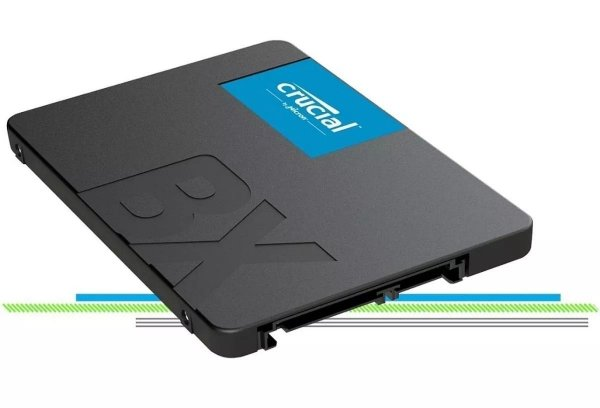 SSD 120GB SATA III CT120BX500SSD1 BX500 CRUCIAL BOX