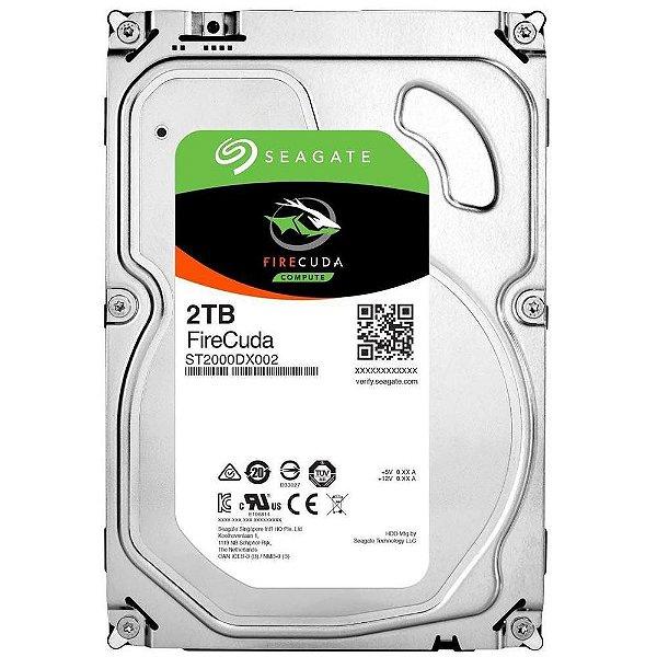 HD 2000GB SATA ST2000DX002 7200RPM SSHD FIRECUDA SEAGATE BOX