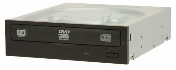 GRAVADOR DVD/CD SATA IHAS124-04 DU PRETO LITE-ON OEM