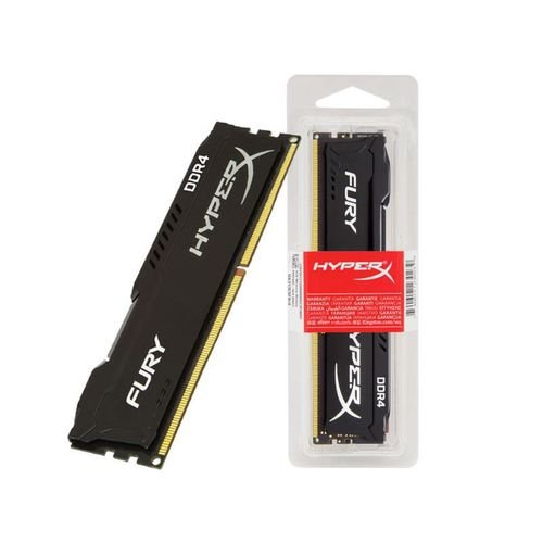 MEMORIA 8GB DDR4 2400 MHZ HYPERX BLACK FURY HX424C15FB3/8 KINGSTON BOX