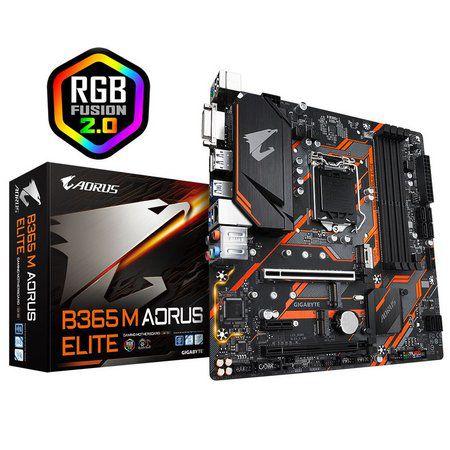 PLACA MAE 1151 MICRO ATX B365M AORUS ELITE DDR4 GIGABYTE BOX
