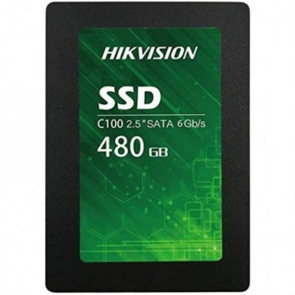 SSD 480GB SATA III HS-SSD-C100/480G HIKVISION BOX