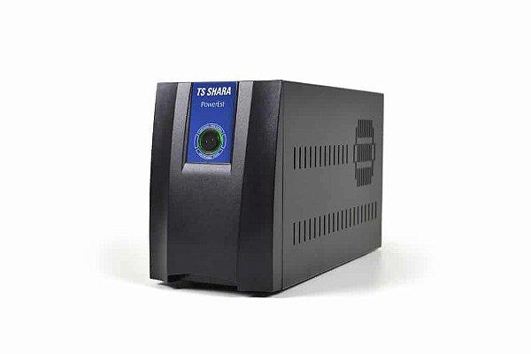 ESTABILIZADOR BIVOL 2500VA POWEREST 9013 6 TOMADAS TS SHARA BOX