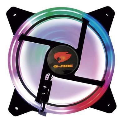 COOLER FAN P/ GABINETE 120MM EW0509-R RGB G-FIRE OEM
