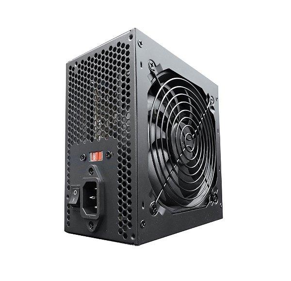 FONTE REAL BRAZIL PC 500 W (BPC-5330) |  600W ( BPC-6350) | 750W (BPC-7400)